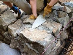 Фундамент из бутового камня 8