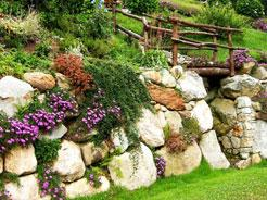 Натуральный камень для сада 6